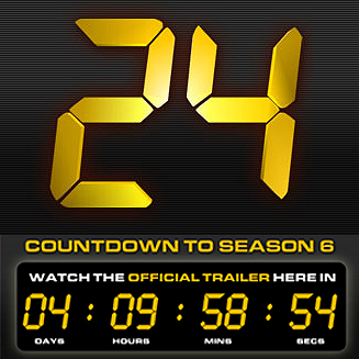 24シーズン6へのカウントダウン ...